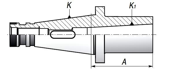 Tuleje redukcyjne ISO-MKP | TYP 1679 | DIN 2080 - rysunek techniczny