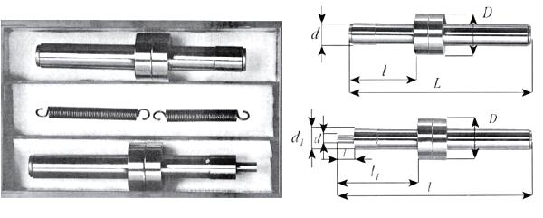 Ustawiaki frezarskie - rysunek techniczny