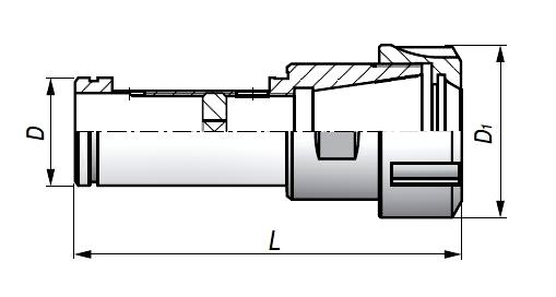 Oprawka tuleji ER Typ 7812