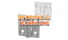Zawiasy - informacje techniczne