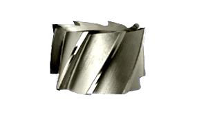 Frezy walcowo-czołowe nasadzane