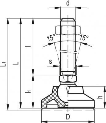 Stopy wahliwe nierdzewne LS.A SST