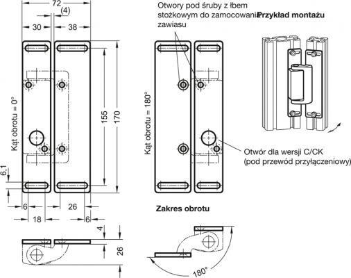 Płyty montażowe GN 139.3