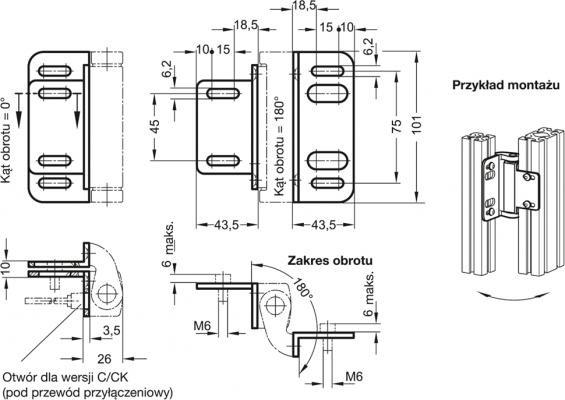 Płyty montażowe GN 139.4