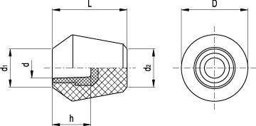Gałki P.390 N
