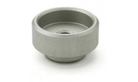 Pokrętła radełkowane DIN 6303-NI