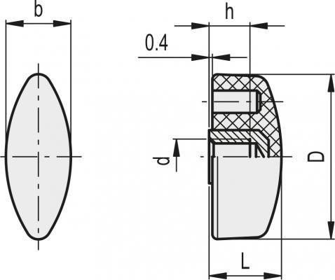 Nakrętki motylkowe CT.476