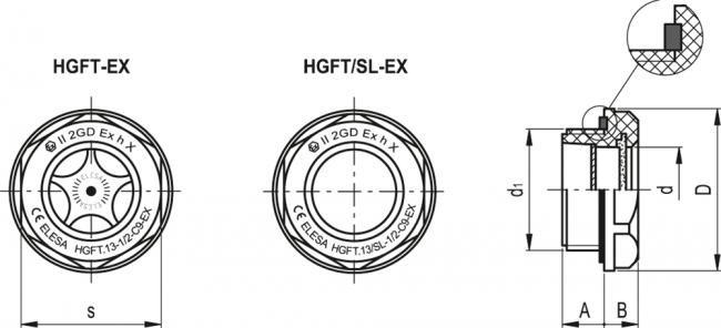 Wskaźniki poziomu HGFT-EX