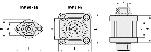 Wziernikowe wskaźniki przepływu HVF.