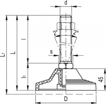 Stopy wahliwe LV.A-125-APS