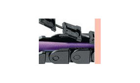 Prowadniki przewodów Zipper e-chain® i E-Tube
