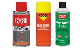 Smary i oleje w sprayu