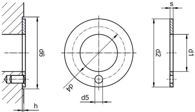 Podkładki oporowe JTM iglidur® J