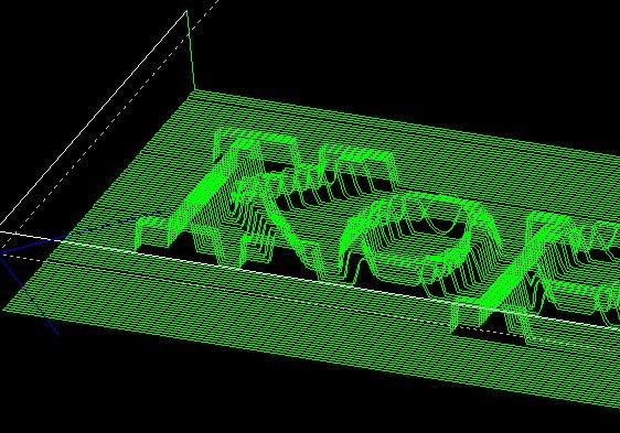 Podgląd G-kodu programu Step 2 CNC