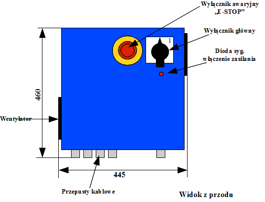 USN-3D8A z przodu