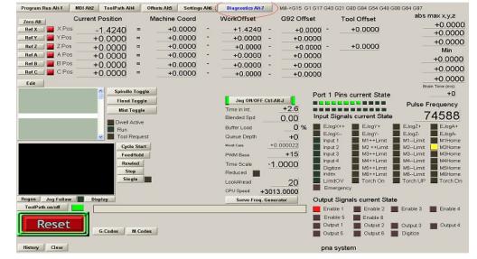Konfiguracja pinów w programie