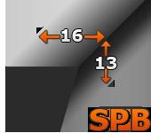 Pas klinowy Super HC-MN SPB 1600 GATES