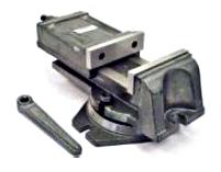 Imadło maszynowe żeliwne z obrotnicą AZ/125/100/O