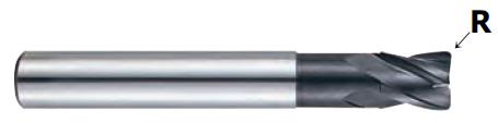 Frez Węglik 8.0(40)8/10.0/80 R0.5 Z=4 D-Power
