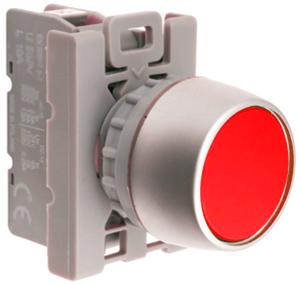 Przycisk sterowniczy ST22-KC-01 NC czerwony Spamel