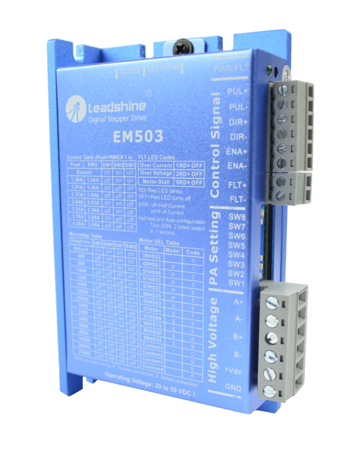 Sterownik silnika krokowego SSK-B08 (EM503) - 4.2A