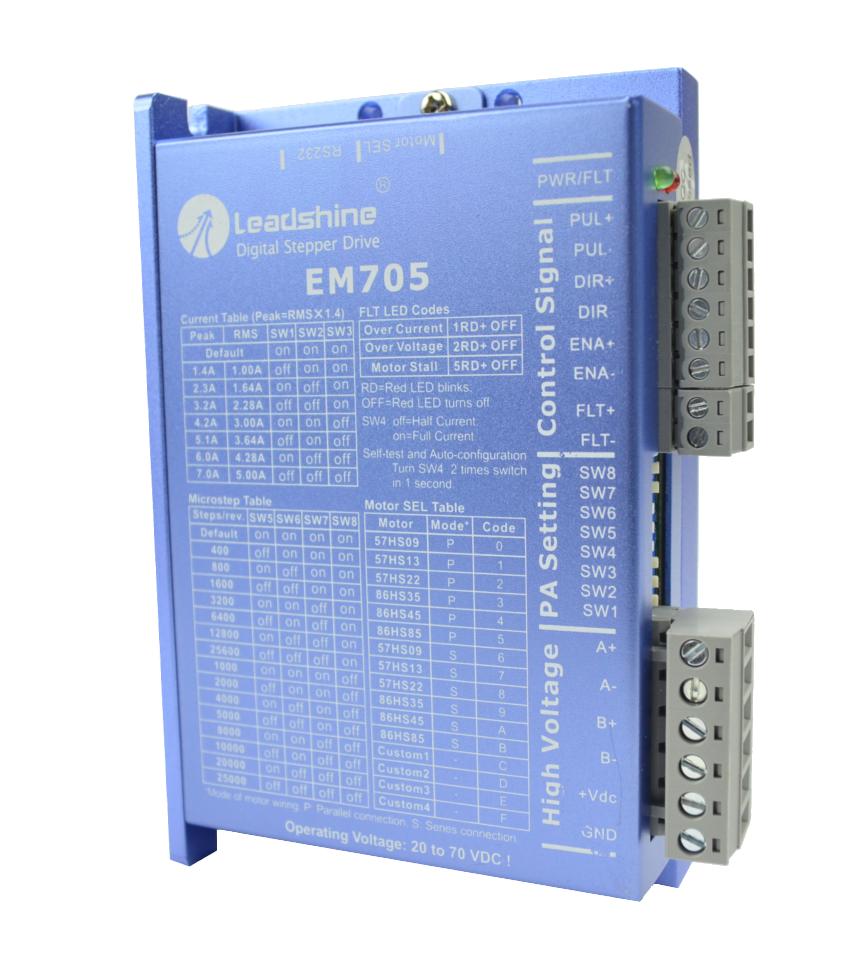 Sterownik silnika krokowego SSK-B09 (EM705) - 7A
