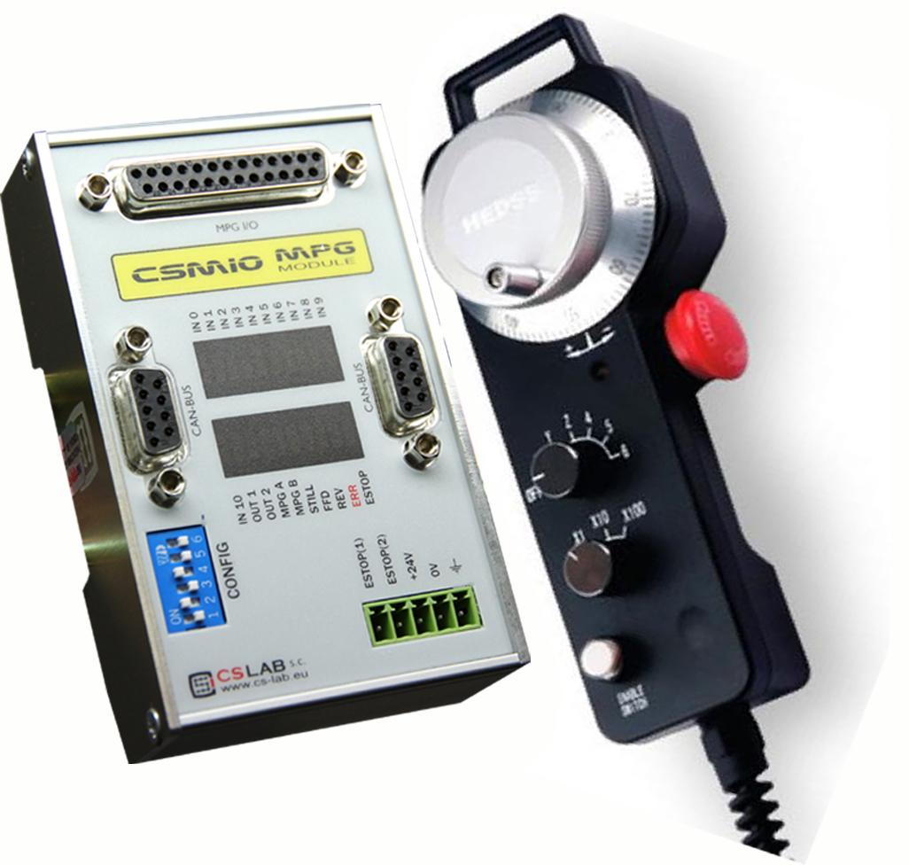 CSMIO-MPG zestaw (kontroler+zadajnik)