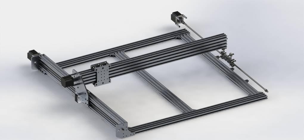 Wspaniały Budowa frezarki CNC krok po kroku - Wiedza EBMiA.pl HL84